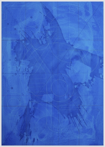 ANDREW LYGHT White Line Drawing CJ-2, 2020