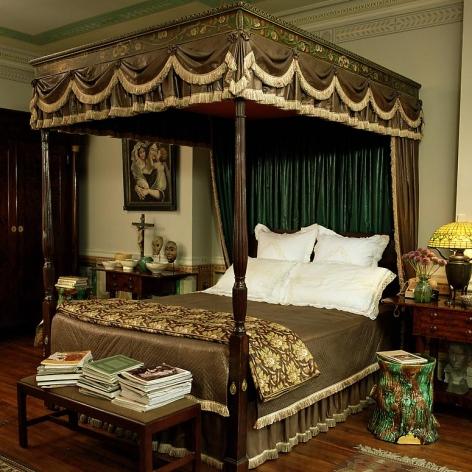 Andy Warhol bedroom, Architect: Jed Johnson