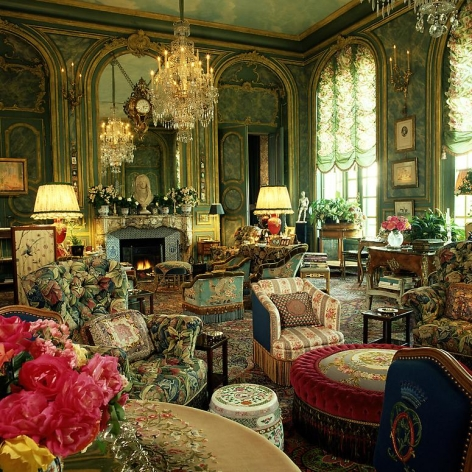 Countess D'Ornano residence, Interior: Henri Samuel