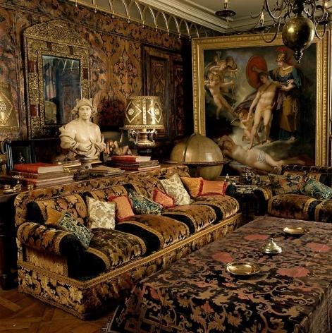 Rudolf Nureyev residence, Interior: Emilio Carcano