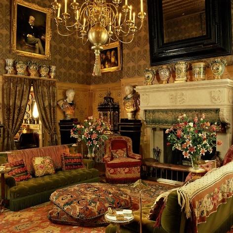 Baron Guy de Rothschild residence, Interior: Geoffrey Bennison