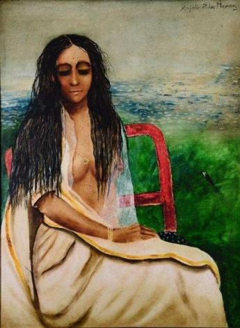 Anjolie Ela Menon, Untitled