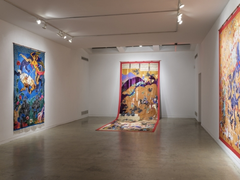 Khadim Ali & Sher Ali | What Now My Friend?, Installation view 1