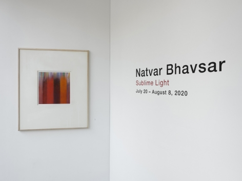 Natvar Bhavsar|Sublime Light, Installation View 18