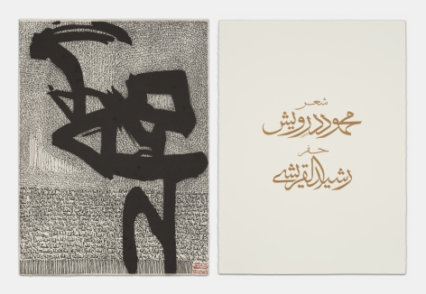 Rachid Koraïchi A Nation in Exile: Engraved Hymns (Set 1)