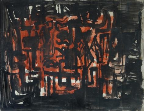 Rasheed Araeen HYD Abstraction