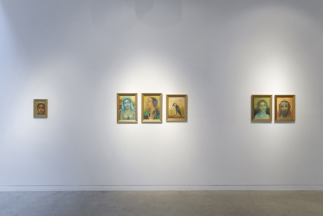Anjolie Ela Menon   By the River, Installation View 10