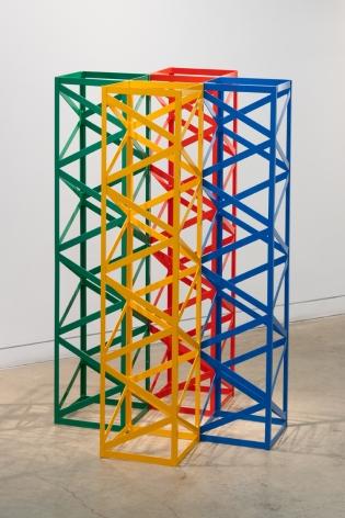 Rasheed Araeen Rang Barange Chaar Yaar (Four Colorful Friends)
