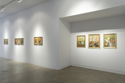 Anjolie Ela Menon   By the River, Installation View 14