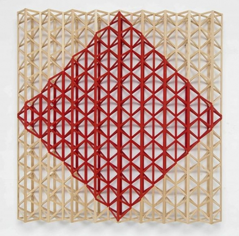 Rasheed Araeen Red Square (After Malevich)