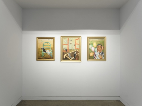 Anjolie Ela Menon   By the River, Installation View 15
