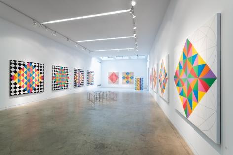 Rasheed Araeen, Recent Works(Installation View)