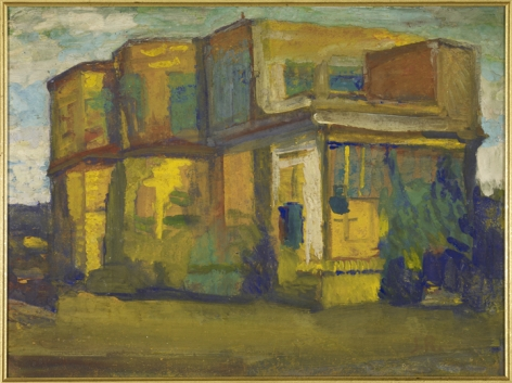 Jamini Roy  Untitled (House)