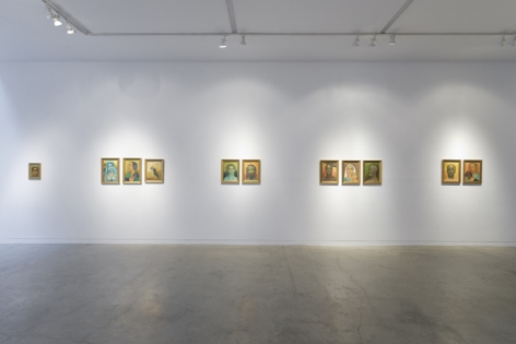 Anjolie Ela Menon   By the River, Installation View 13