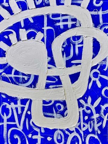 Victor Ekpuk Composition in Blue2