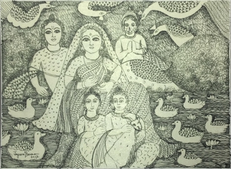 Jayasri Burman From the Draupadi Series 20