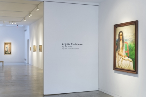Anjolie Ela Menon   By the River, Installation View 16