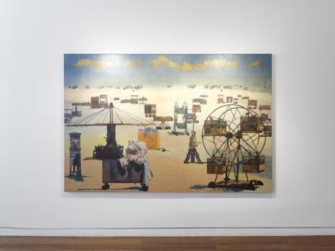 Nataraj Sharma| Travel Log, Installation View 16