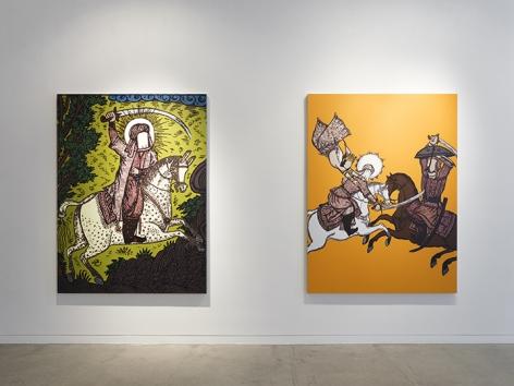 Saad Qureshi  Tanabana, Installation View 4
