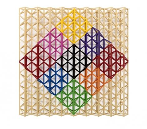 Rasheed Araeen Black Square Breaking Into Rainbow Colours