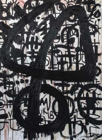 Victor Ekpuk Composition in Black1