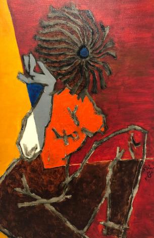 M.F. Husain Untitled (Maya)