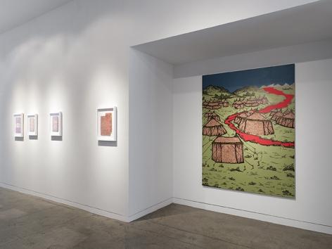Saad Qureshi  Tanabana, Installation View 14
