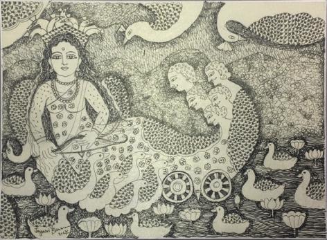 Jayasri Burman From the Draupadi Series 19