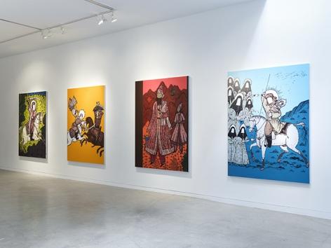 Saad Qureshi  Tanabana, Installation View 6
