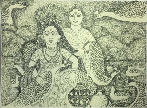 Jayasri Burman From the Draupadi Series 18