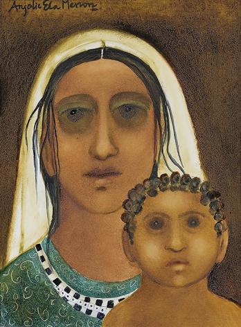 Anjolie Ela Menon, Divine Mother III