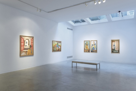 Anjolie Ela Menon   By the River, Installation View 7