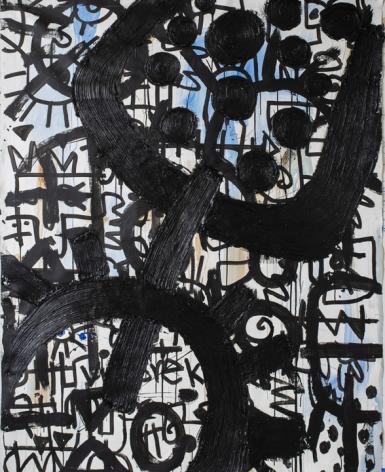 Victor Ekpuk Composition in Black2
