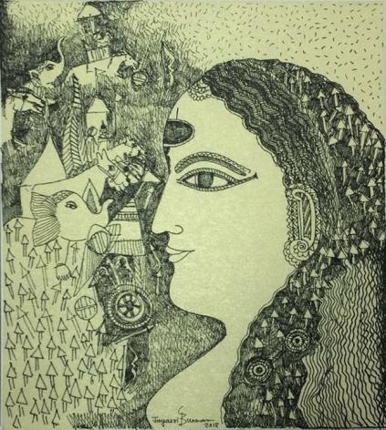 Jayasri Burman From the Draupadi Series 21