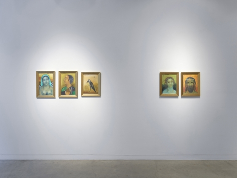 Anjolie Ela Menon   By the River, Installation View 11