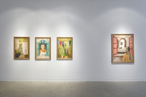 Anjolie Ela Menon   By the River, Installation View 4