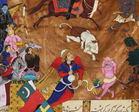 Khadim Ali What Now My Friend? (detail)