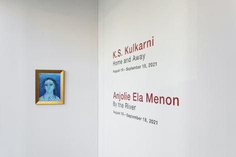 Anjolie Ela Menon   By the River, Installation View 18