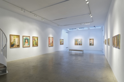 Anjolie Ela Menon   By the River, Installation View 17