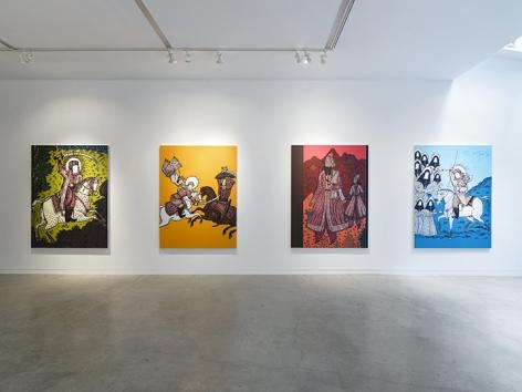 Saad Qureshi  Tanabana, Installation View 3