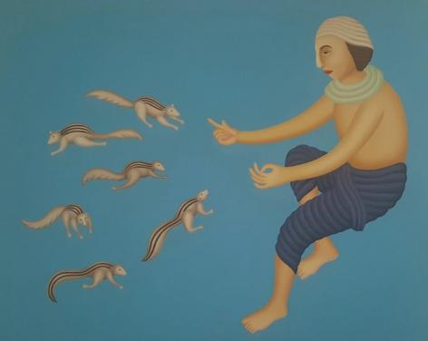 Manjit Bawa Untitled