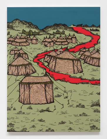 SAAD QURESHI Blood River, 2021