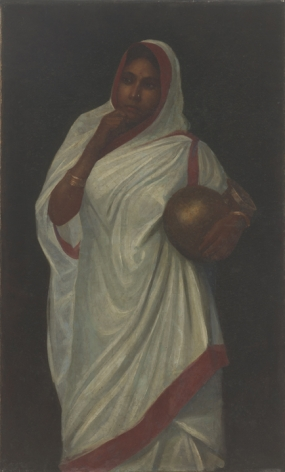 Hemen Mazumdar Untitled (Lady in Sari)