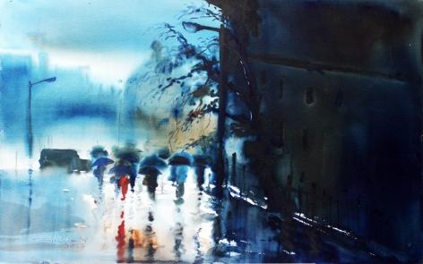 Paresh Maity Rain in London