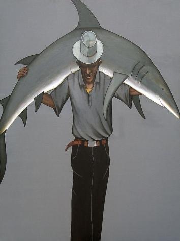 Rajan Krishnan MAN WITH A SHARK