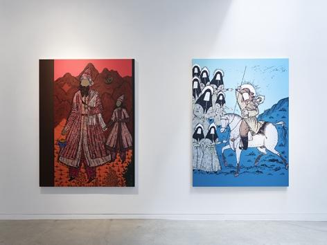 Saad Qureshi  Tanabana, Installation View 5