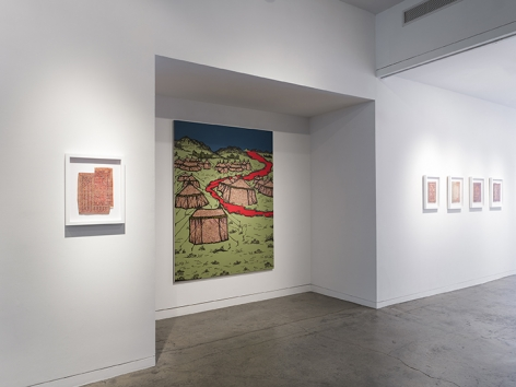 Saad Qureshi  Tanabana, Installation View 15
