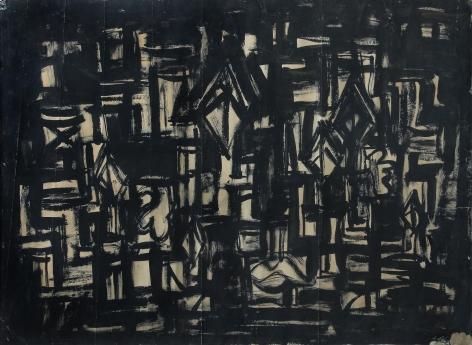 Rasheed Araeen Black Painting