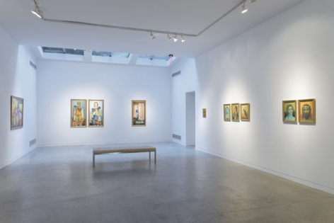 Anjolie Ela Menon   By the River, Installation View 9