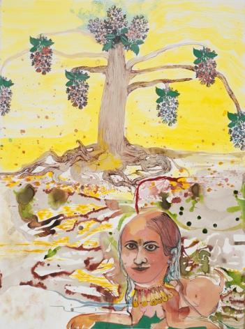 Rina Banerjee The tree flowered